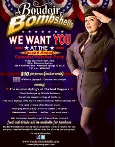 Boudoir Bombshells Calendar Release Party